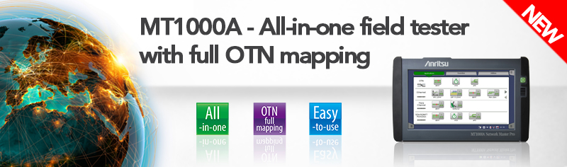 All-in-one testing with full OTN mapping